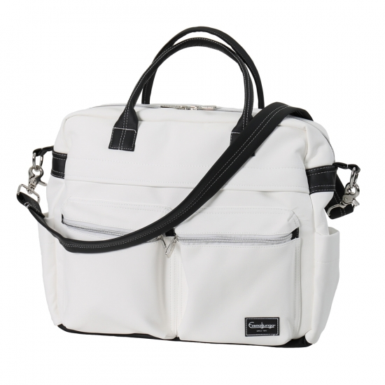 Emmaljunga 2021 Skötväska Travel Leatherette White