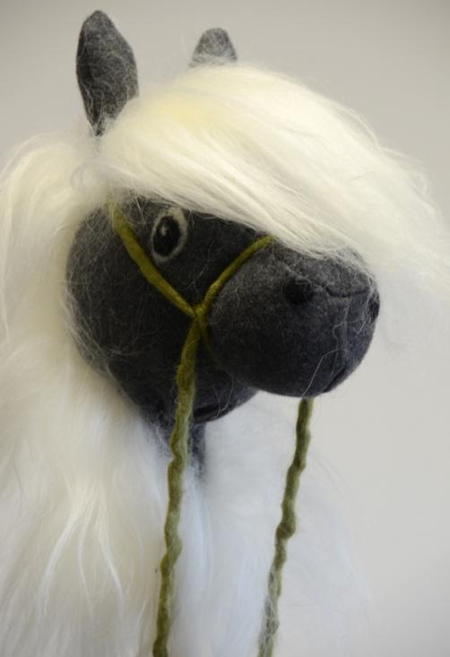 Käpphäst Grå med vit man | Från 3 år - Presenttips - Baby ... | 274 x 400 jpeg 61kB