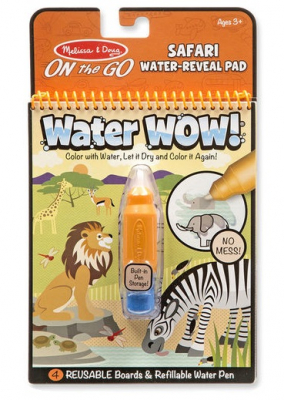 Melissa & Doug Water Wow Målarbok Safari