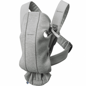 BabyBjörn Bärsele Mini 3D Jersey Light Grey