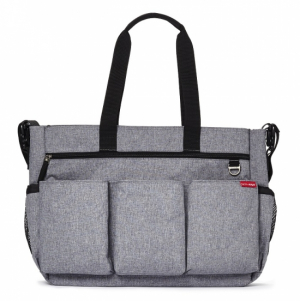 Skip Hop Duo Double Signature Heather Grey