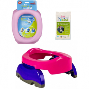 Potette Plus 2 in 1 Resepotta & Toasits Bundle Pack Rosa