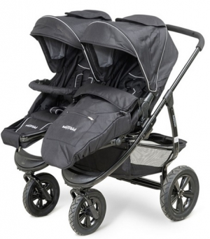 BabyTrold Twin Air Svart