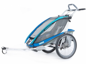 Thule Chariot CX 1 inkl. cykelset Blue