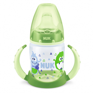 NUK First Choice Learner Bottle TPE 150 ml, Grön