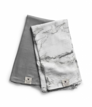 Elodie Details Bambufiltar 2-pack Marble Grey