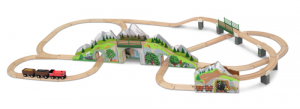 Melissa & Doug Tågset Mountain Railway Train Set 64