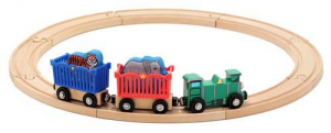 Melissa & Doug Tågset Zoo Animal Train