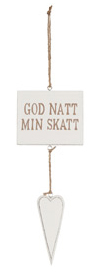 Different Design Skylt God natt min skatt