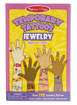 Melissa & Doug My First Temporary Tattoos Smycken