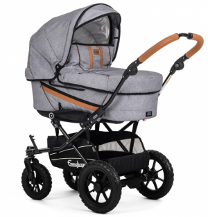 Emmaljunga 2019 Duo-paket Edge Outdoor Grey