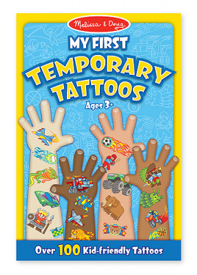 Melissa & Doug My First Temporary Tattoos Blå