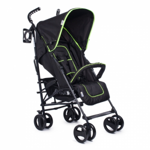 Hauck Speed Plus S Paraplysulky Black Neon
