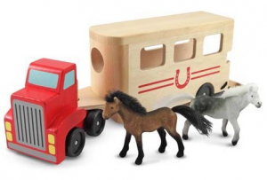 Melissa & Doug Hästtransport