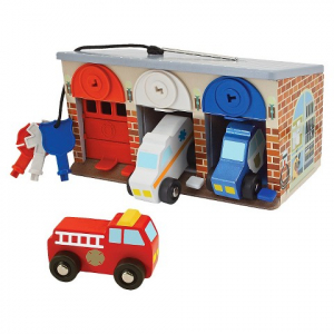 Melissa & Doug Lock & Roll Garage