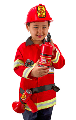 Melissa & Doug Fire Chief Maskeraddräkt