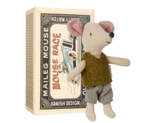 Maileg Mouse Little Brother Alf in Box