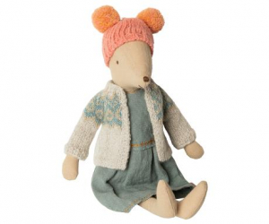 Maileg Winter Mouse Meduim Girl