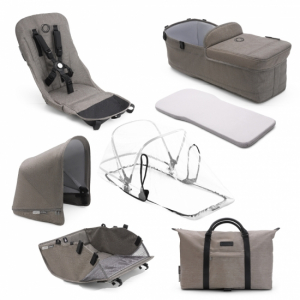 Bugaboo Donkey2 Style Set Mineral Collection Taupe