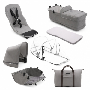 Bugaboo Donkey2 Mineral Collection Style Set Light Grey