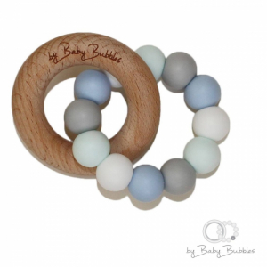 By Baby Bubbles Bitring Seafoam