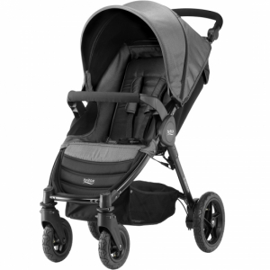 Britax B-Motion 4 Black Denim inkl fotsack