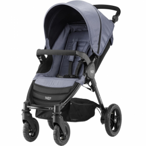 Britax B-Motion 4 Blue Denim inkl fotsack