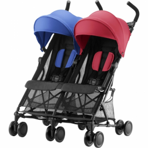 Britax Holiday Double Red & Blue