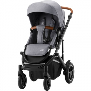 Britax Smile 3 Sittvagn Frost Grey (Brown handle)