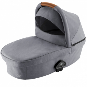 Britax Smile 3 Liggdel Frost Grey/Brown handle