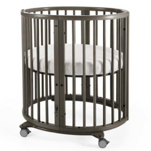 Stokke Sleepi Mini Säng Hazy Grey inkl madrass
