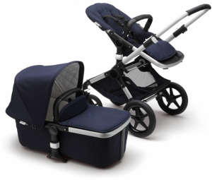 Bugaboo Fox Komplett Classic Collection, Alu/Dark Navy