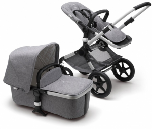 Bugaboo Fox Komplett Classic Collection, Alu/Grey Melange