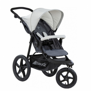 Hauck Runner Joggingvagn Silver Grey