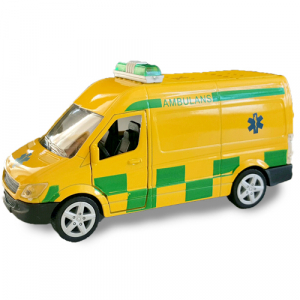 Pull-back Leksaksbil Die-Cast Ambulans
