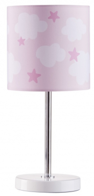 Kids Concept Bordslampa Star & Moln Rosa