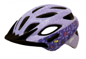 Cykelhj�lm BeSafe Bernina, Animal Purple (Gr�nt sp�nne)