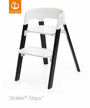 Stokke Steps Ben Oak Black