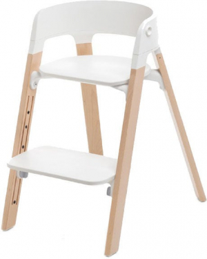 Stokke Steps Matstol White Natural