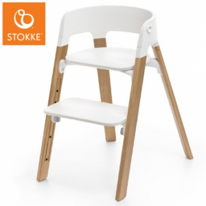 Stokke Steps Matstol White Oak Natural