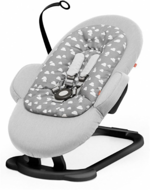 Stokke Steps Bouncer Babysitter Grey Clouds