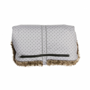 Vinter & Bloom Handvärmare Mini Dots Silver Grey