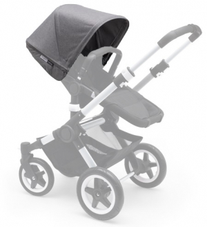 Bugaboo Buffalo Extension Sufflett Grey Melange
