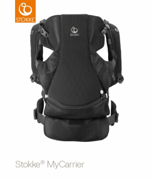 STOKKE MyCarrier Front & Back Black Mesh