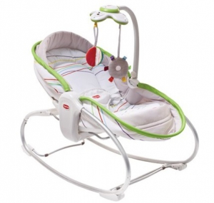 Tiny Love Babysitter Rocker Napper Lime 3 in 1