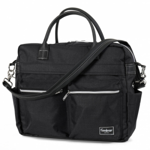 Emmaljunga 2020 Skötväska Travel Lounge Black