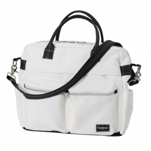 Emmaljunga 2020 Skötväska Travel Leatherette White