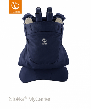 STOKKE MyCarrier Back Carrier Deep Blue