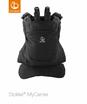 STOKKE MyCarrier Back Carrier Black