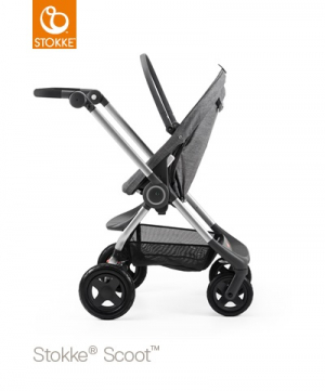 Stokke Scoot V2 Black Melange exkl sufflett